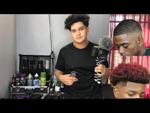16 Year Old Barber Life (Vlog)