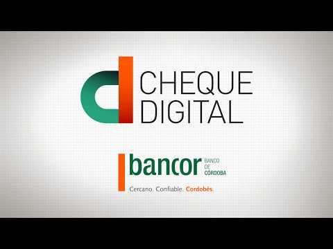 Cheque Digital Bancor