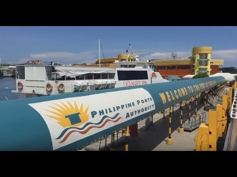 The Port of Bohol in Tagbilaran City   Trip ni Rey