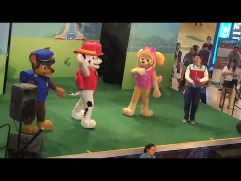 Paw Patrol Live show at United Square 2017