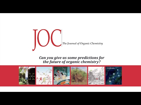 Can you give us some predictions for the future of organic chemistry?