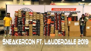 1st Sneakercon of 2019! (Fort Lauderdale)