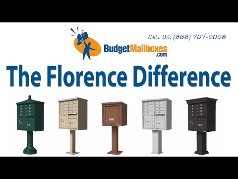 Florence Manufacturing | The Florence Difference | Budget Mailboxes