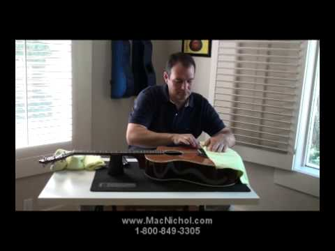 How To Change Strings On A Pinless Bridge Guitar