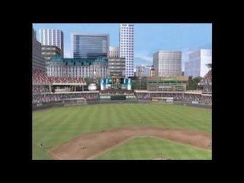 MVP Baseball 2005 GameCube Gameplay - Create-a-Ballpark