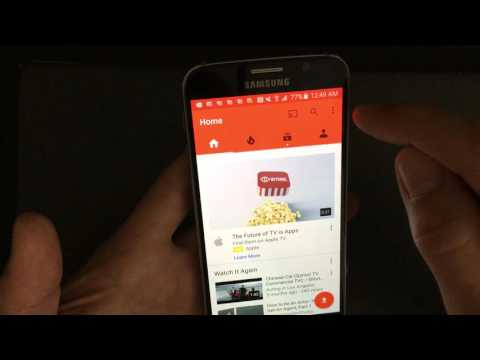 ALL ANDROIDs:  HOW TO CLEAR YOUTUBEs SEARCH & WATCH HISTORY BEFORE IT'S TOO LATE!!