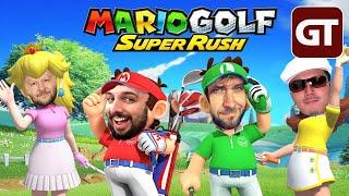 The Golf Among Us - Mario Golf Super Rush im GameTube VS.!