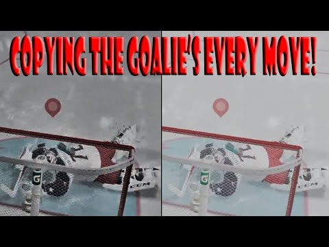 Replicating Our Opponent's Goalie's EVERY MOVE NHL 18