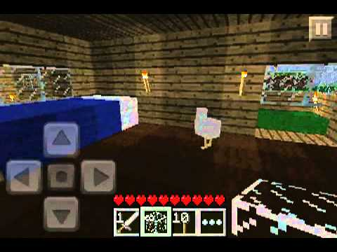 Minecraft PE Lets play Episode 7 - rainbow farts