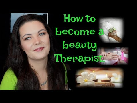 How to become a beauty therapist or Aesthetician | My story