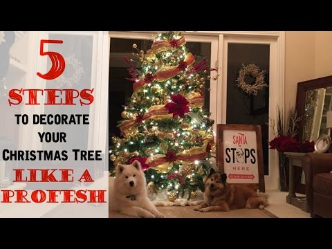 5 Steps to Decorating a Christmas Tree like a Professional