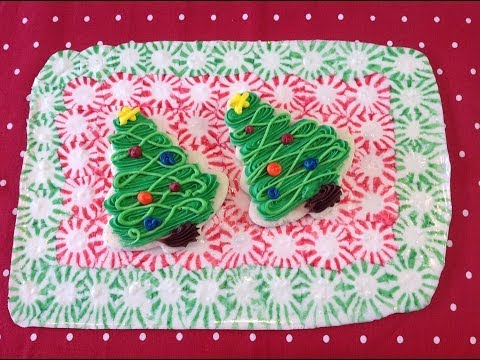 Easy Peppermint Tray