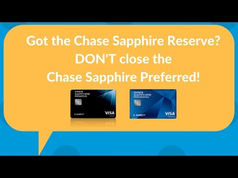 Got the Chase Sapphire Reserve? Don't close the CSP! What to do instead...
