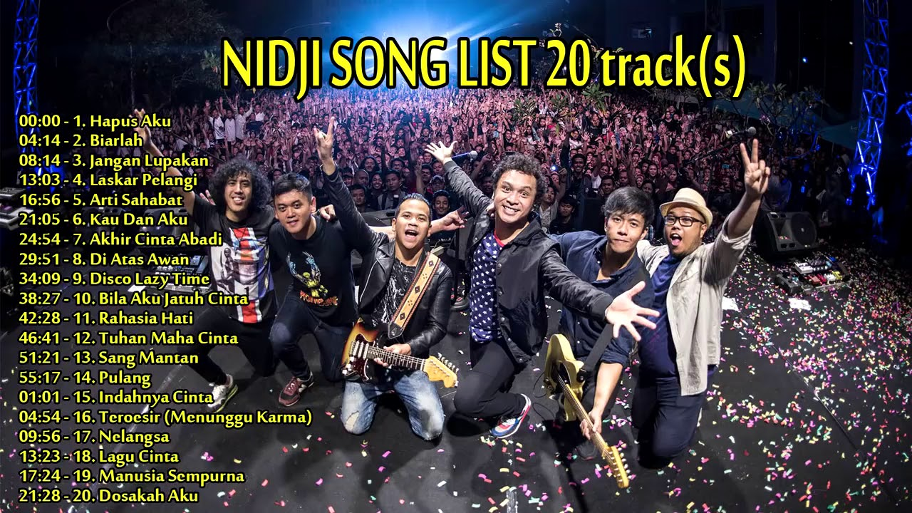 Download Nidji - Full Album (20 List Best Quality) MP3 Gratis