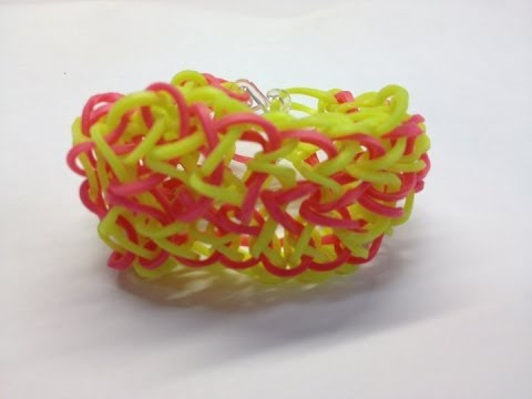 Bandaloom: How to make a Dragon Scale Bracelet!