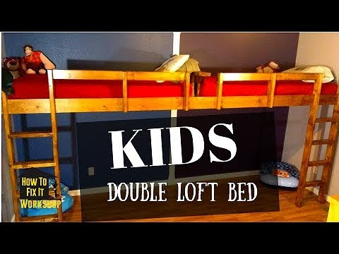 How to Build - End-to-End Floating Loft Bed for Kids
