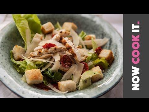 Chicken Caesar Salad Recipe | Now Cook It