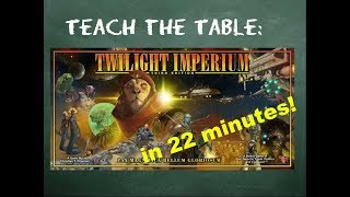Twilight Imperium 4th Edition 5-Player Battle Report 1