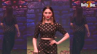 Tamannaah Bhatia Ramp Walk For Baahubali 2 - The Conclusion Inspired Clothing Line | Bolly2box