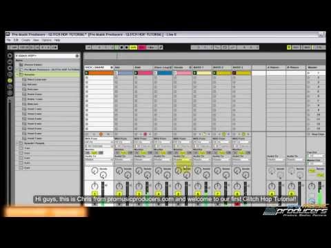 Ableton Tutorial: Glitch Hop Tutorial | How to make Glitch Hop in Ableton Live
