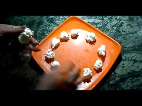 Rasmalai  Spongy cottage cheese balls in saffron flavoured creamy milk