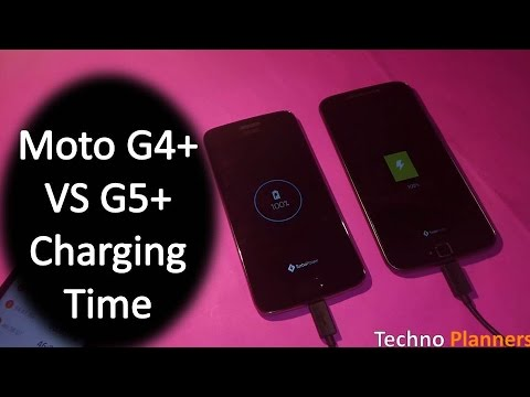Moto G5 Plus VS Moto G4 Plus: How much time it take to charge with turbocharger