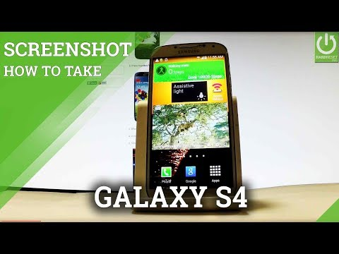 How to Take Screenshot in SAMSUNG Galaxy S4 - Capture / Edit Screen