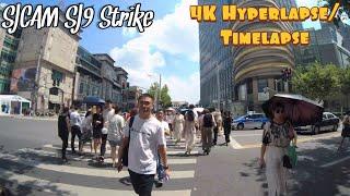 SJCAM SJ9 Strike 4k Hyperlapse/Timelapse Test Footage in Shanghai China