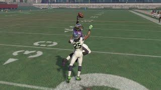 Can the Slowest Player in the NFL 45 speed 349lb Terrence Cody Score a 99yd TD Against the Seahawks?