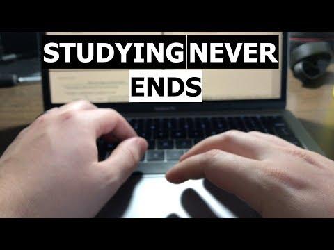 Dental School Vlog -  STUDYING NEVER ENDS...