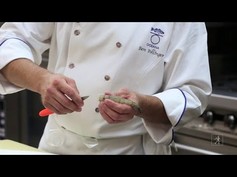 Learn How to Clean Shrimp with executive Chef Ben Pollinger
