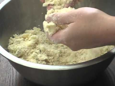 Making Pie Dough by Hand - No Pastry Cutter or Food Processor