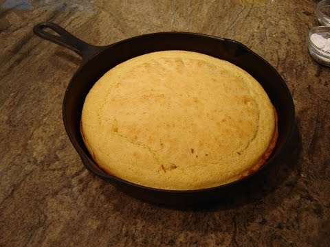 Skillet Corn Bread No Sugar Recipe by Diane Lovetobake