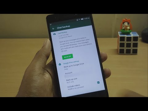 Backup/Restore Whatsapp Messages,photos and videos to/from Google drive(OFFICIAL NOW)