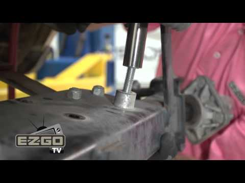 How to Remove an E-Z-GO TXT Front and Rear Axle