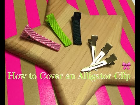 How to Cover an Alligator Clip