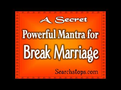 BREAK MARRIAGE IN 7 DAYS - MOST POWERFUL RITUAL