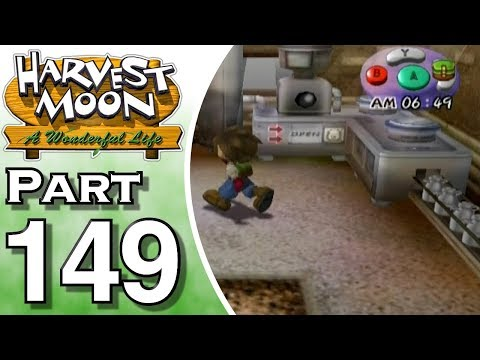 Harvest Moon: A Wonderful Life Part 149: The Milking Room