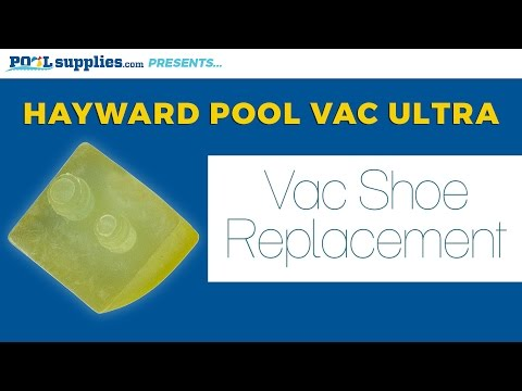 How to Replace Your Hayward Pool Vac Ultra's Vac Shoes