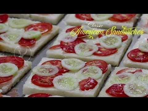 classic american sandwiches | american veg sandwiches | veg mayo sandwiches | vegetable sandwiches
