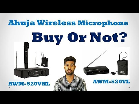 Ahuja Wireless Microphone Buy Or Not? TR-4