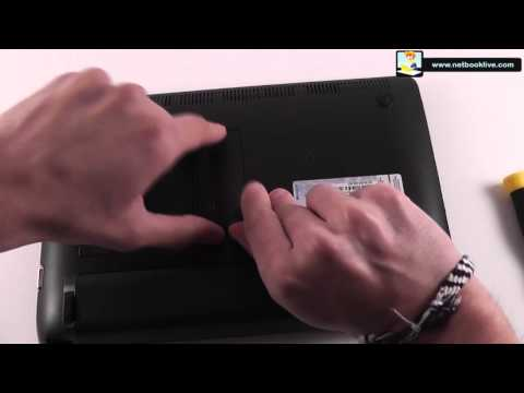 How to upgrade memory on Asus 1015B EEE PC