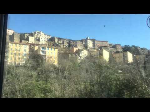 Train Ride From Rome To Chiusi
