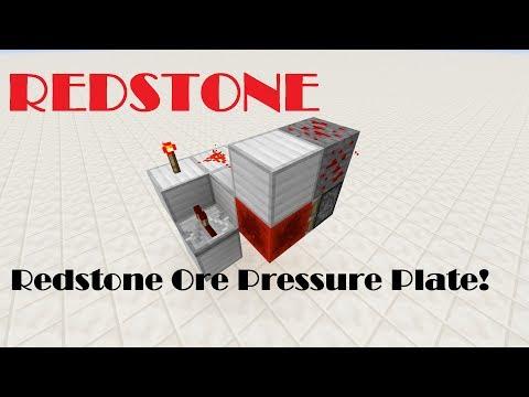 Redstone Quickie: Redstone Ore Pressure Plate