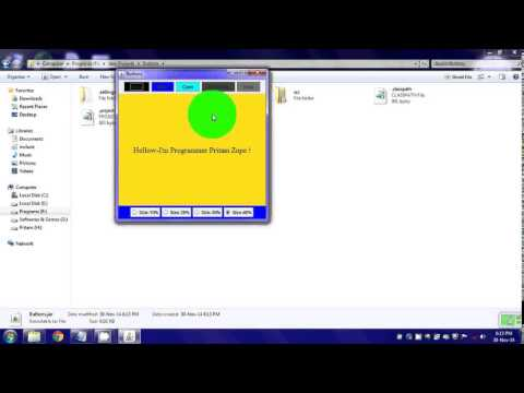 How to create Java jar & exe application using Eclipse & Launch4j