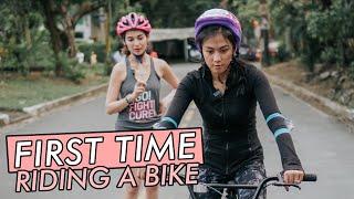 Riding a Bike by Alex Gonzaga