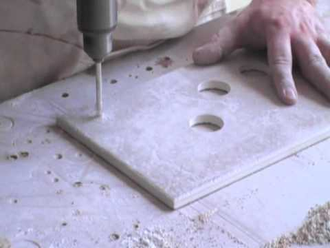 How to Drill Holes in Ceramic Tile without Breaking them