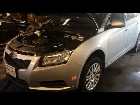 2013 Chevy Cruze ECO Oil Change 1.4T