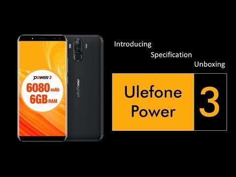 Introducing, Spesification & Unboxing - Ulefone Power 3