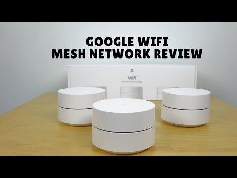 Google Wifi Mesh Network Setup & Review